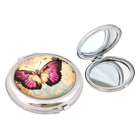 Дамско огледалце с пеперуда