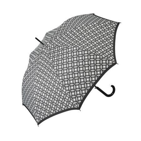 Дамски чадър PIERRE CARDIN - черно и бяло