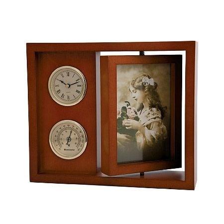 Часовник и термометър