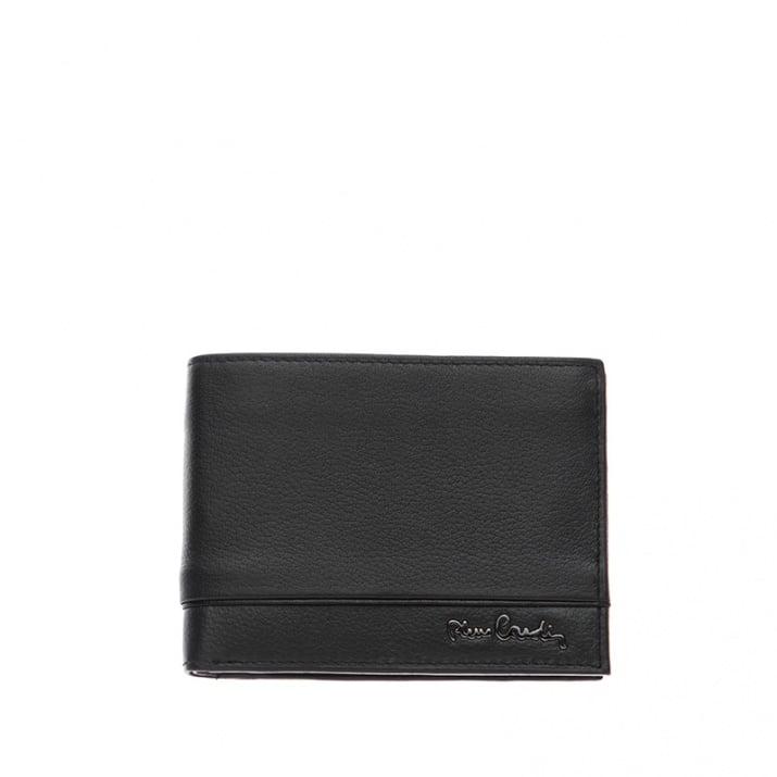 Мъжки портфейл с хоризонтална черна черта PIERRE CARDIN