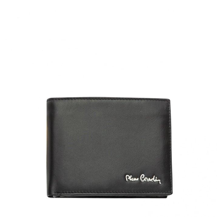 Мъжки черен мат портфейл PIERRE CARDIN