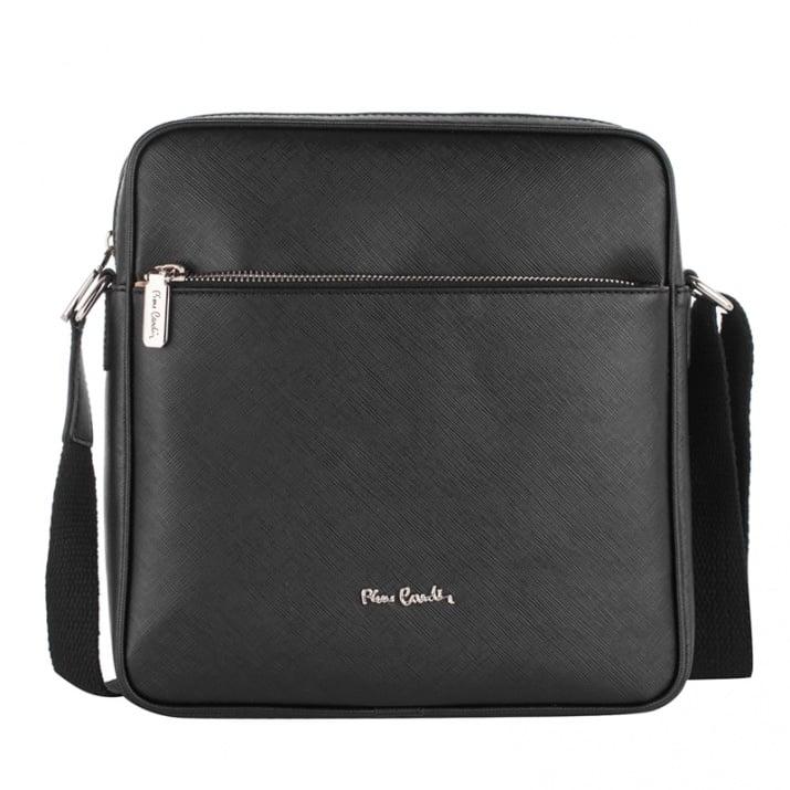 Мъжка спортна чанта, черна - PIERRE CARDIN