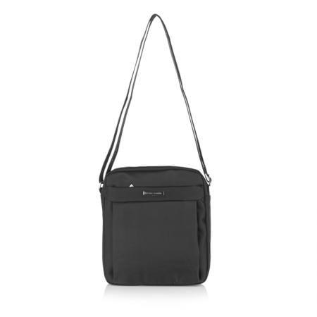 Мъжка чанта PIERRE CARDIN - плат черна