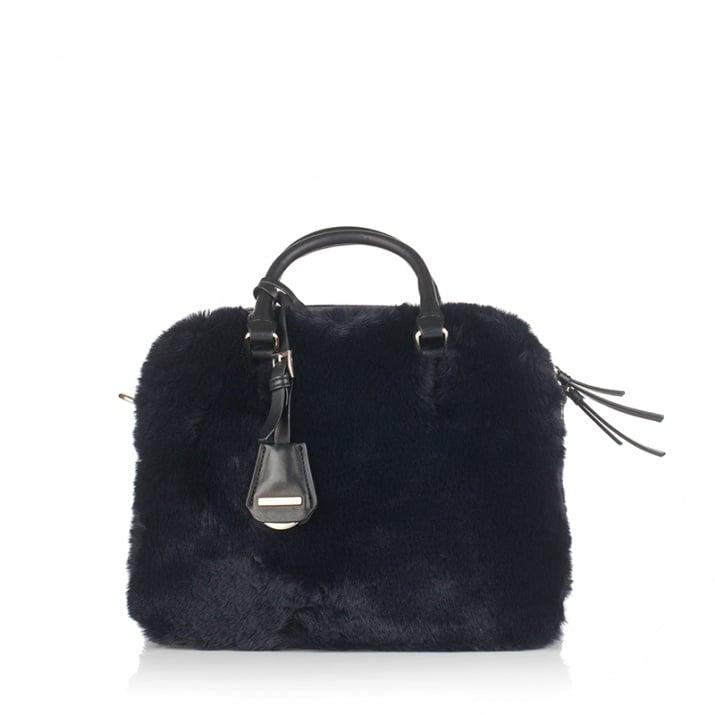 Дамска чанта с пух CERRUTI 1881