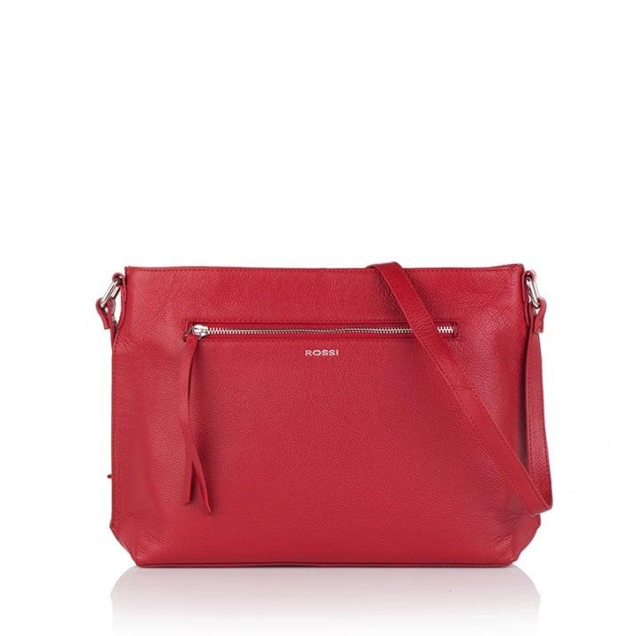 Дамска чанта червена - ROSSI