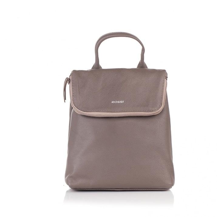 Дамска  бежова чанта - ROSSI
