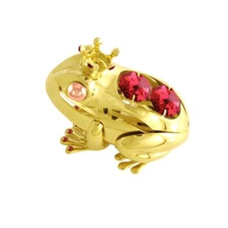 Жаба с корона златна