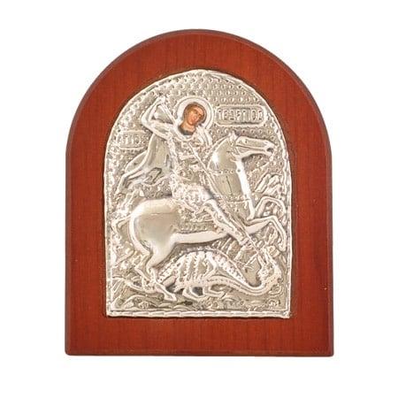Икона св.Георги злато