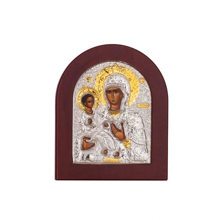 Икона Богородица злато