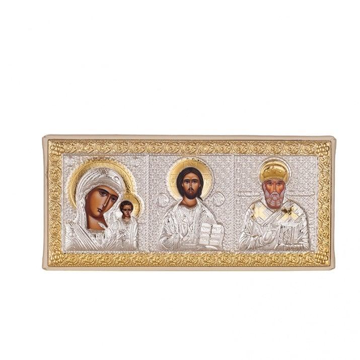 Икона Триптих 5.5*14