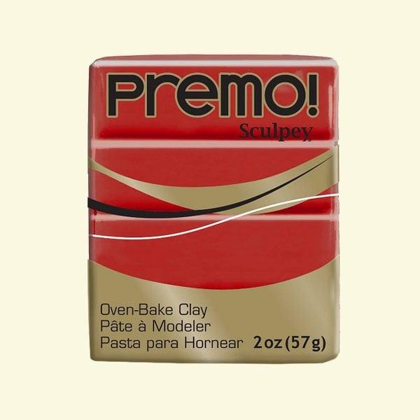 Полимерна глина Premo! Sculpey Полимерна глина Premo! Sculpey, 57g, Cayenne