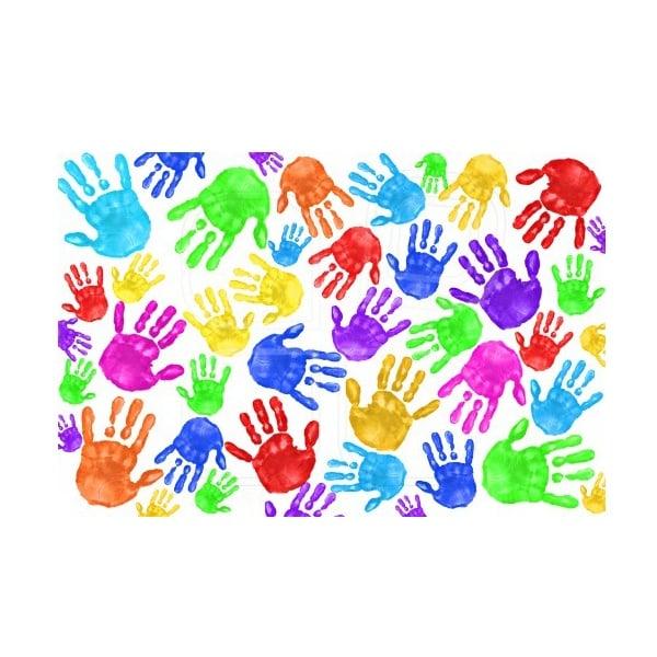 Комплект боички за рисуване с ръце CREALL Mini, 4 х 125 ml