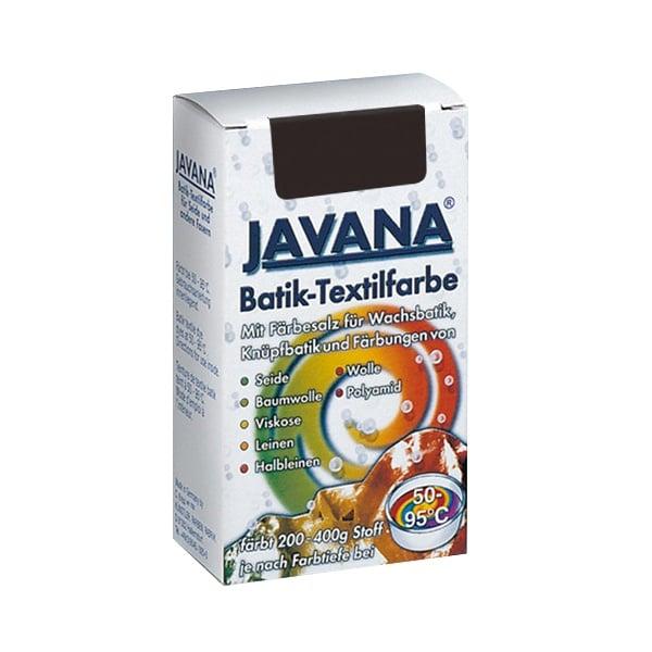 Текстилна боя за батик, JAVANA, 75g Текстилна боя за батик, JAVANA, 75g, тъмно кафява