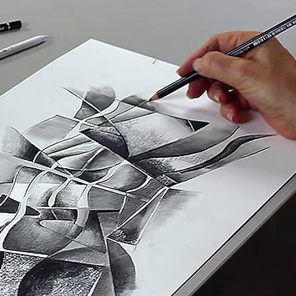 Графитен акварелен молив Graphite Aquarell Pencils, 1бр., HB Графитен акварелен молив Graphite Aquarell Pencils, 1бр., 8B