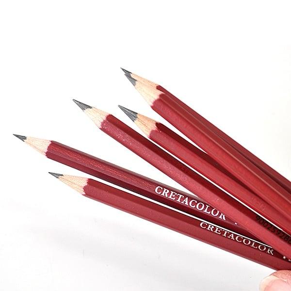 Комплект графитни моливи CLEOS FineArtGraphite, 12 бр., 2H,F,HB-9B