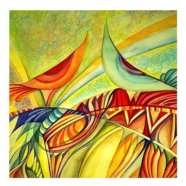 Комплект четки за акрилни бои SOLO Goya, 4 бр, натурални