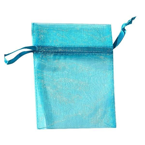 Торбичка подаръчна шифон, 15 X 24 cm Торбичка подаръчна шифон, 9 x 12 cm, турско синя