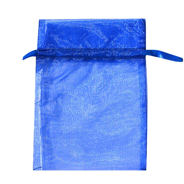 Торбичка подаръчна шифон, 15 X 24 cm Торбичка подаръчна шифон, 12 x 17 cm, кралско синьо