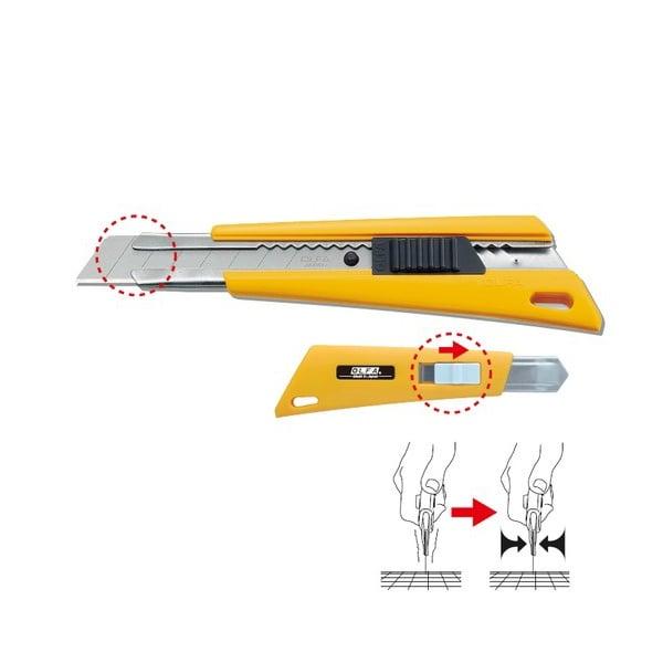 Макетен нож HEAVY, OLFA FL, 18 mm, LB, LBB