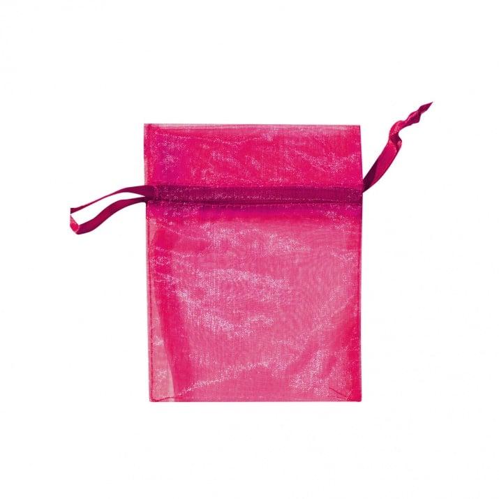 Торбичка подаръчна шифон, 15 X 24 cm Торбичка подаръчна шифон, 9 x 12 cm, розова