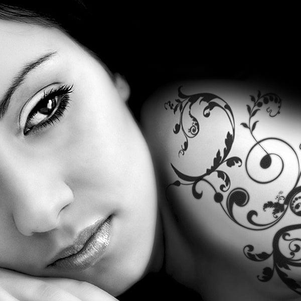 Писец за татуировки Tattoo Pen, връх четка Писец за татуировки Tattoo Pen, връх четка, зелен