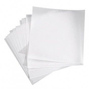 Хартия прозрачна, 30,5 x 30,5 cm, 10 части / 200g / m2, бяла