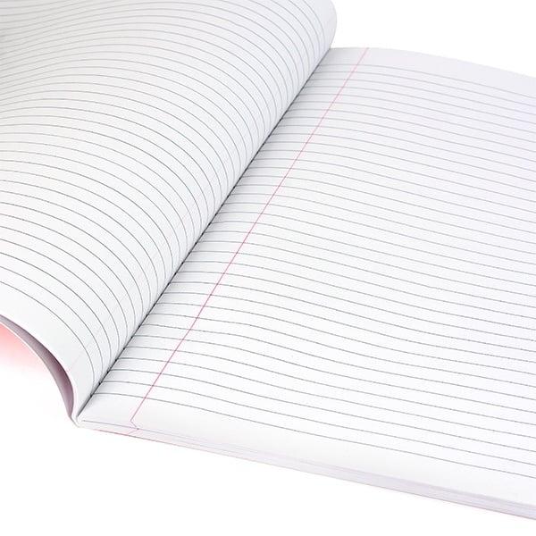 Тетрадка Notte Trend, A5, PP корица, 100 л., ред, 60 g/m2