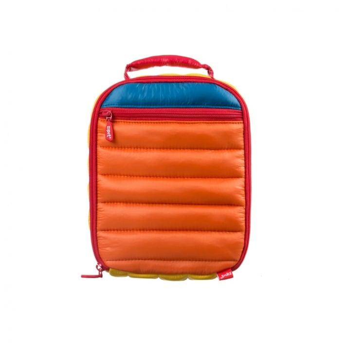 Чанта за храна с Ice pack, 26x21x9cm, оранжева