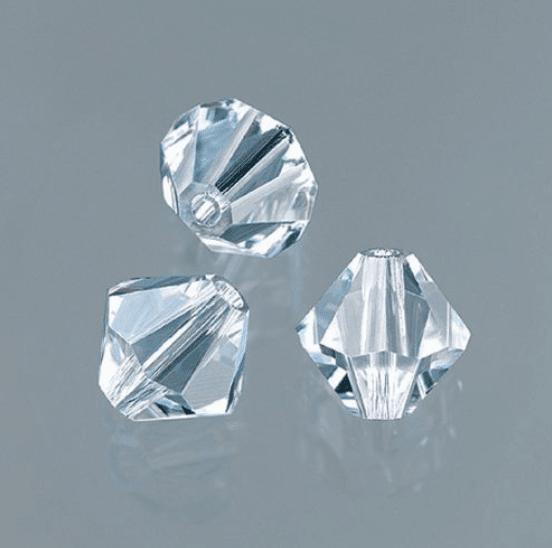 Перла многостенна Swarovski, 4 mm, 25 бр. Перла многостенна Swarovski, 4 mm, 25 бр., кристал