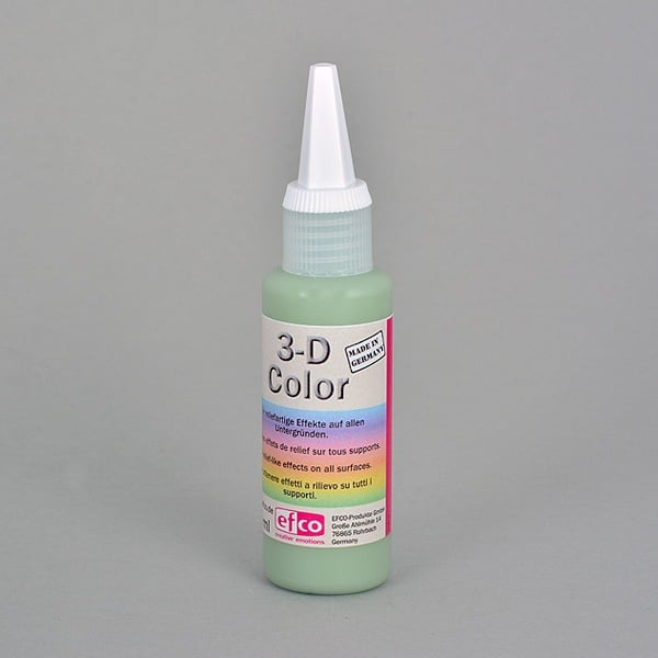3-D Color бои с  3-D ефект, 50 ml  3-D Color, 50 ml, зелена