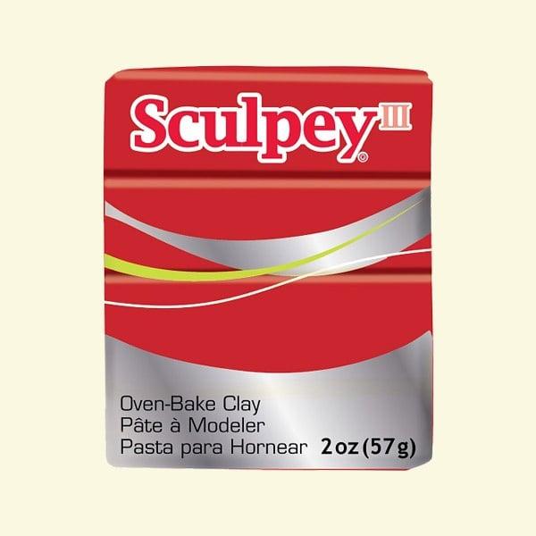 Полимерна глина Sculpey III Глина Sculpey III, 57g, Poppy