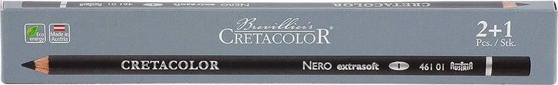 Пастелен черен молив CretaColor, Nero Drawing Пастелен черен молив CretaColor, Nero Drawing, medium