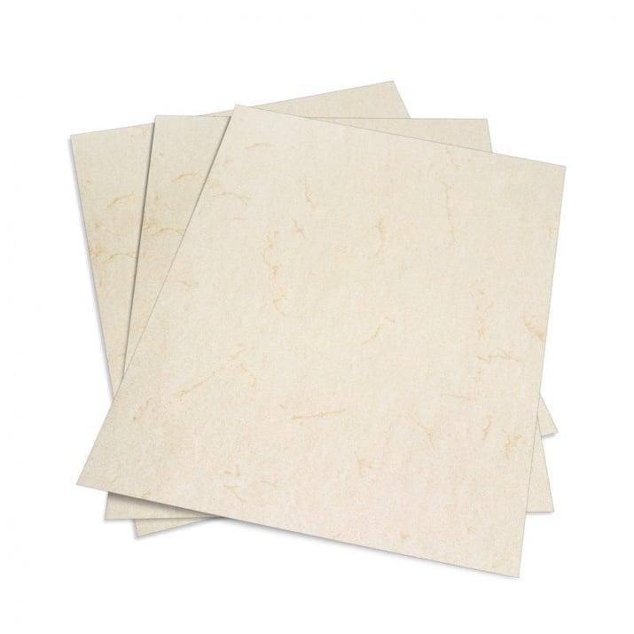 ХХартия супер дебела слонска кожа, 190 g/m2, 50 x 70 cm, 1л, бяла