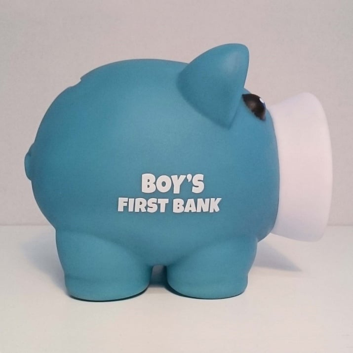 Касичка-прасенце BOY'S FIRST BANK, пластмаса