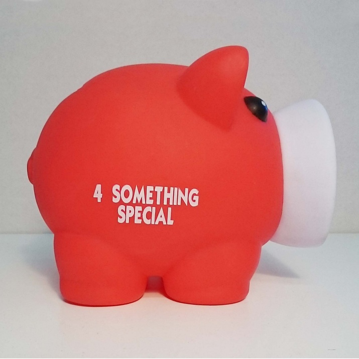 Касичка-прасенце 4 SOMETHING SPECIAL, пластмаса