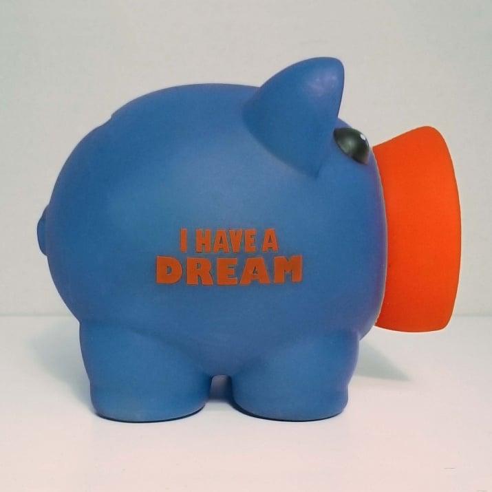 Касичка-прасенце I HAVE A DREAM, пластмаса