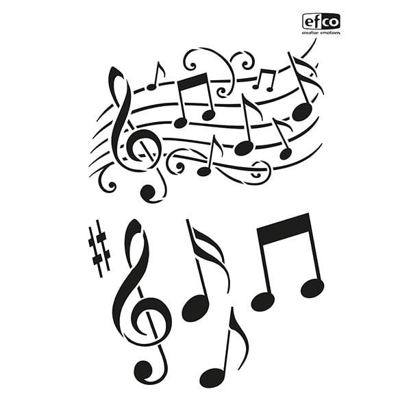 Шаблон, Музика/ 6 части, A4