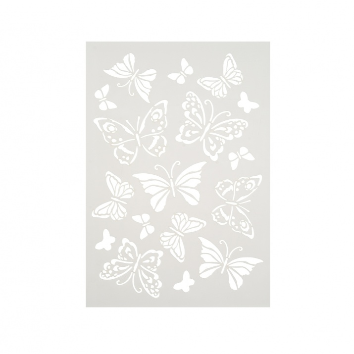 Шаблон, Пеперуди/ 17 части, DIN A4