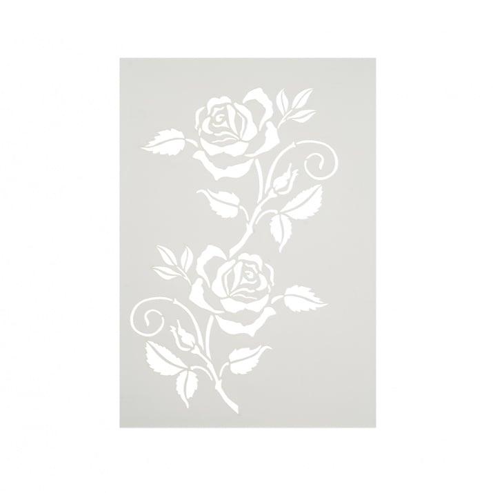 Шаблон, Клонче от роза/ 1 част, DIN A4