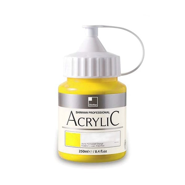 Акрилни бои ARTISTS' ACRYLIC Акрилна боя ARTISTS' ACRYLIC, 250 ml, Lemon Yellow