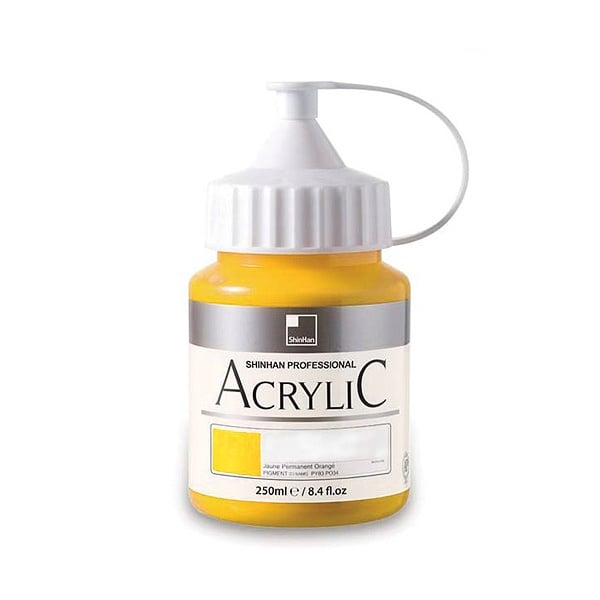 Акрилни бои ARTISTS' ACRYLIC Акрилна боя ARTISTS' ACRYLIC, 250 ml, Permanent Yellow Light