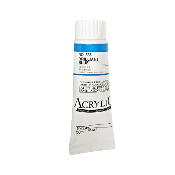 Акрилни бои ARTISTS' ACRYLIC Акрилна боя ARTISTS' ACRYLIC, 50 ml, Brilliant Blue