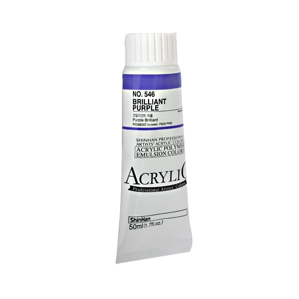 Акрилни бои ARTISTS' ACRYLIC Акрилна боя ARTISTS' ACRYLIC, 50 ml, Brilliant  Purple