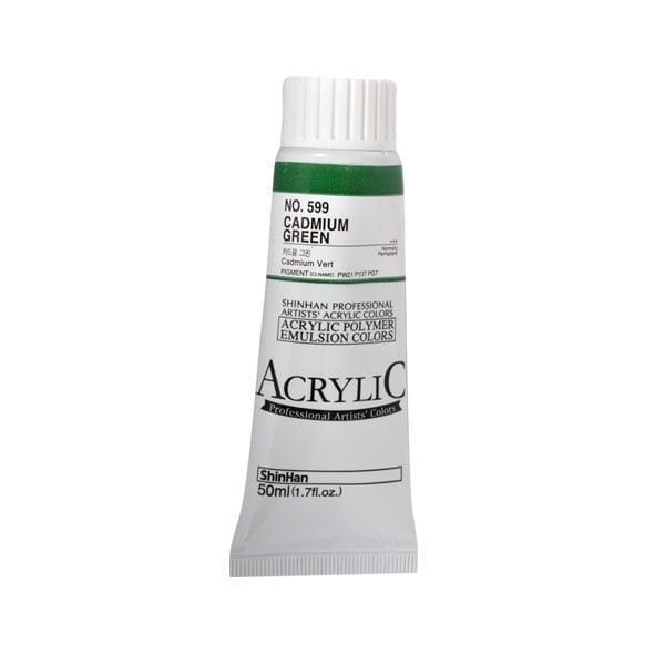 Акрилни бои ARTISTS' ACRYLIC Акрилна боя ARTISTS' ACRYLIC, 50 ml, Cadmium green