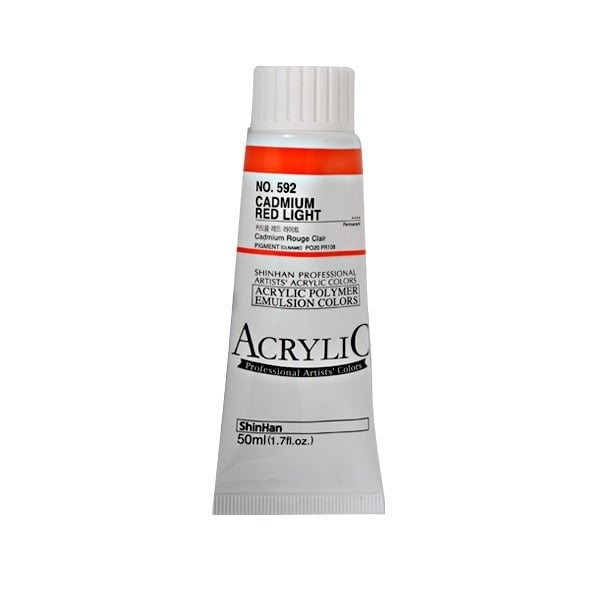 Акрилни бои ARTISTS' ACRYLIC Акрилна боя ARTISTS' ACRYLIC, 50 ml, Cadmium red light