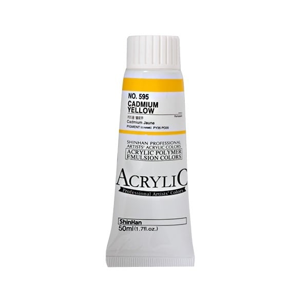 Акрилни бои ARTISTS' ACRYLIC Акрилна боя ARTISTS' ACRYLIC, 50 ml, Cadmium yellow