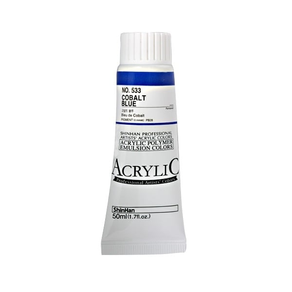 Акрилни бои ARTISTS' ACRYLIC Акрилна боя ARTISTS' ACRYLIC, 50 ml, Cobalt blue
