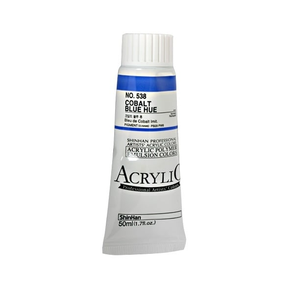 Акрилни бои ARTISTS' ACRYLIC Акрилна боя ARTISTS' ACRYLIC, 50 ml, Cobalt Blue Hue