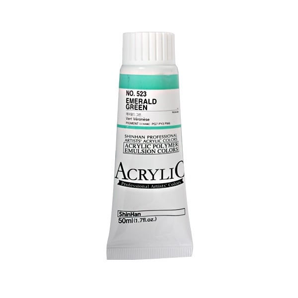 Акрилни бои ARTISTS' ACRYLIC Акрилна боя ARTISTS' ACRYLIC, 50 ml, Emernald Green