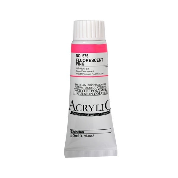 Акрилни бои ARTISTS' ACRYLIC Акрилна боя ARTISTS' ACRYLIC, 50 ml, Fluorescent Pink
